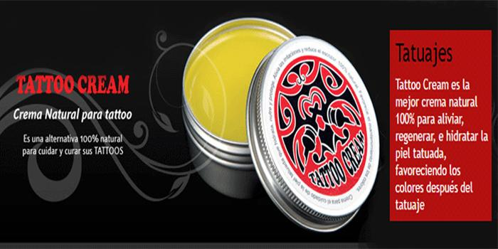 CUIDA TUS TATTOOS, CON TATTOO CREAM